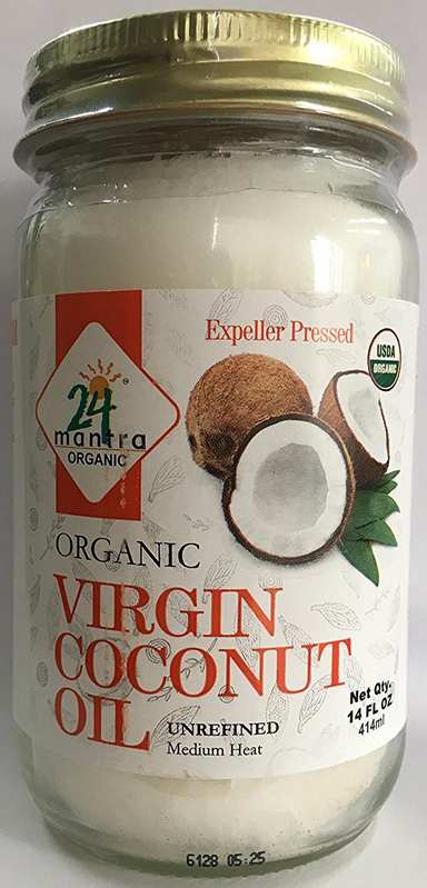 24 Mantra Organic Virgin Coconut Oil