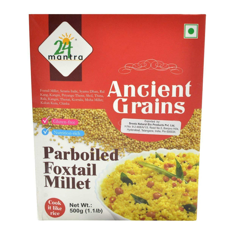24 Mantra Parboiled Foxtail Millet