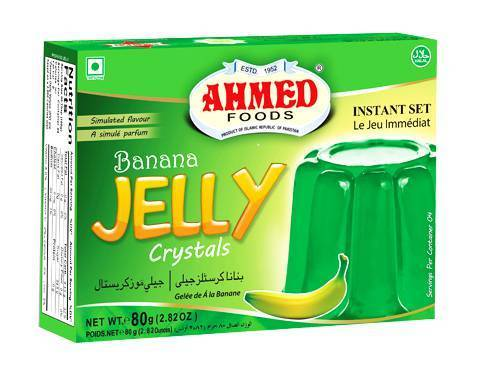 Ahmed Foods Banana Jelly Dessert Mix