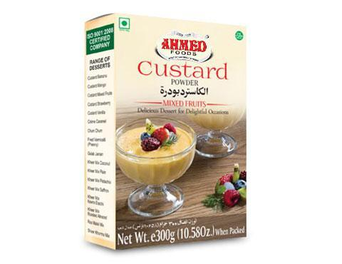 Ahmed Foods Custard Powder Mixed Fruits 300gm