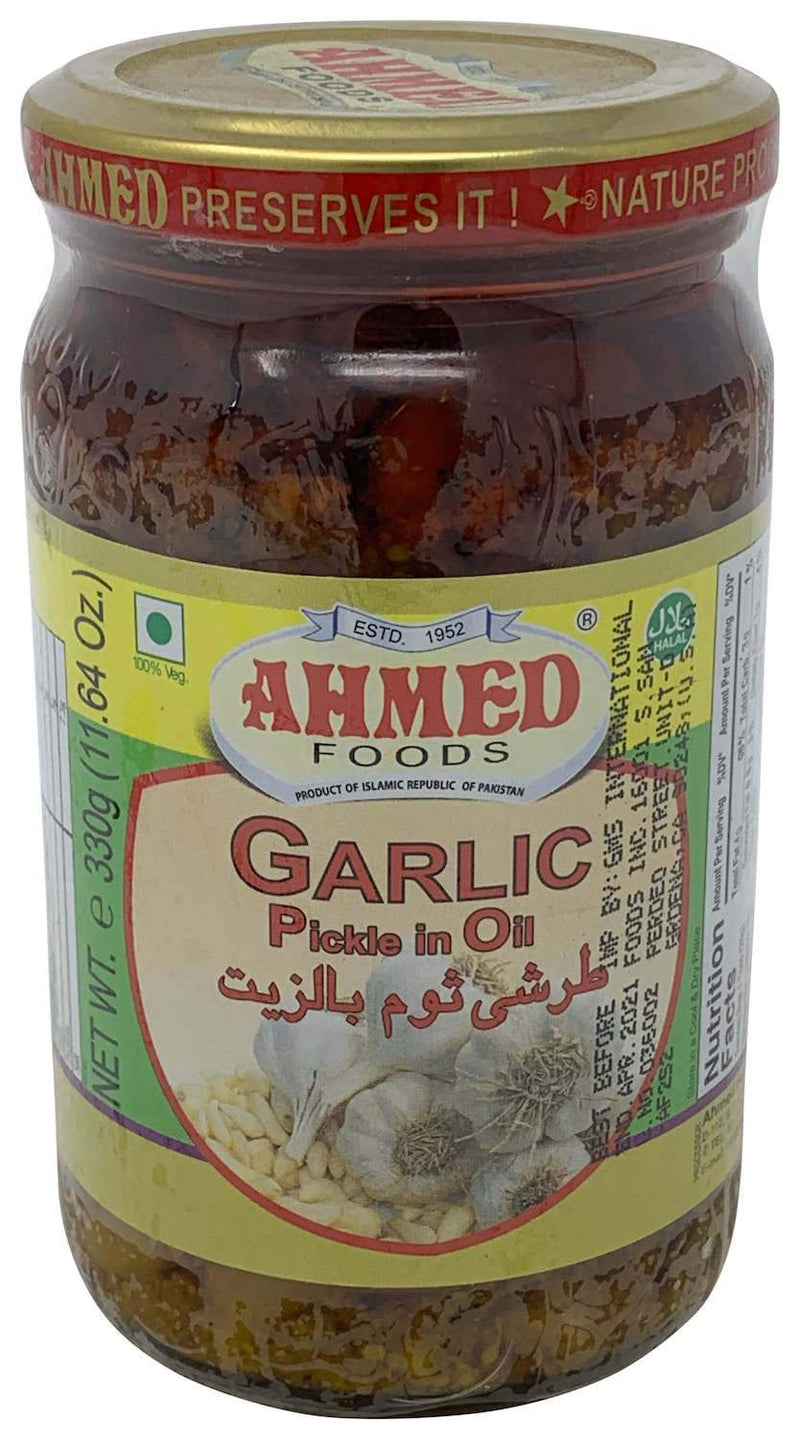 Ahmed Garlic Pickle In Oil 330gm