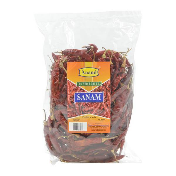 Anand Dried Dry Red Chilies Whole