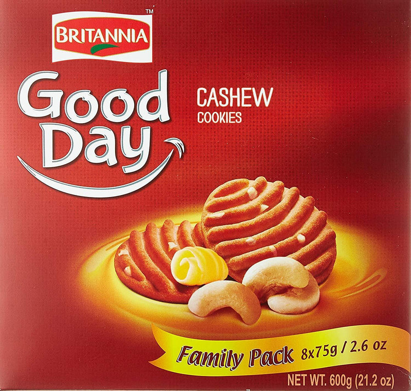 Britannia Good Day Cashews Biscuits Family Pack 600gm