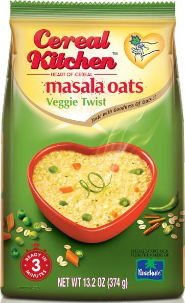 Cereal Kitchen (Saffola) Masala Oats Veggie Twist