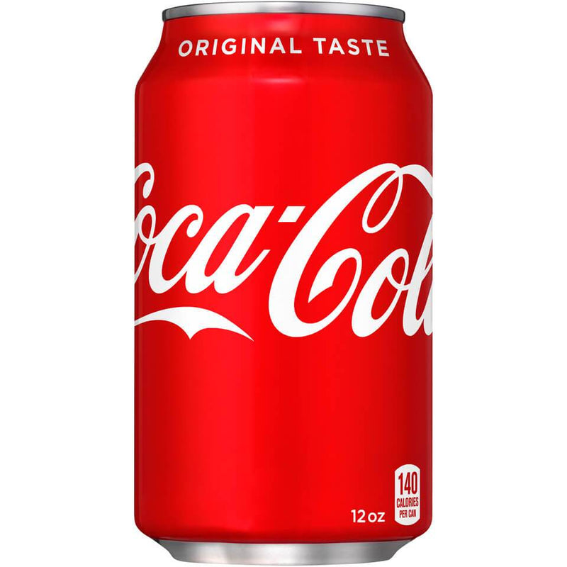 Coca Cola Classic Coke Soda 12oz