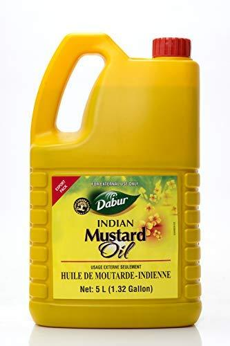 Dabur Pure Indian Mustard Oil 5 Liter
