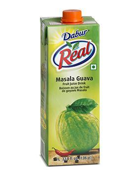 Dabur Real Masala Guava Fruit Juice Drink 1 Liter
