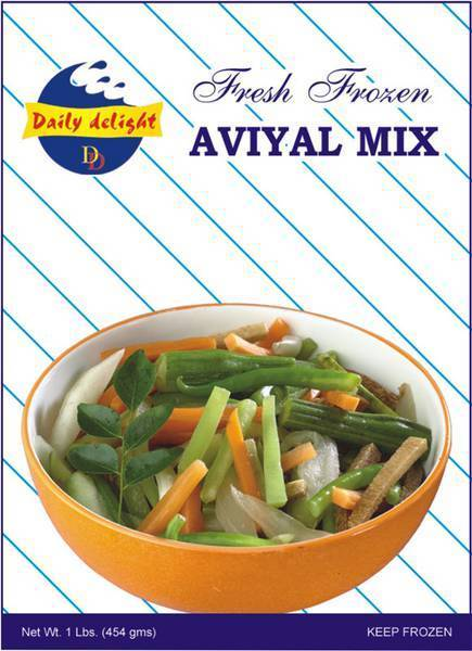 Daily Delight Frozen Aviyal (Vegetable) Mix
