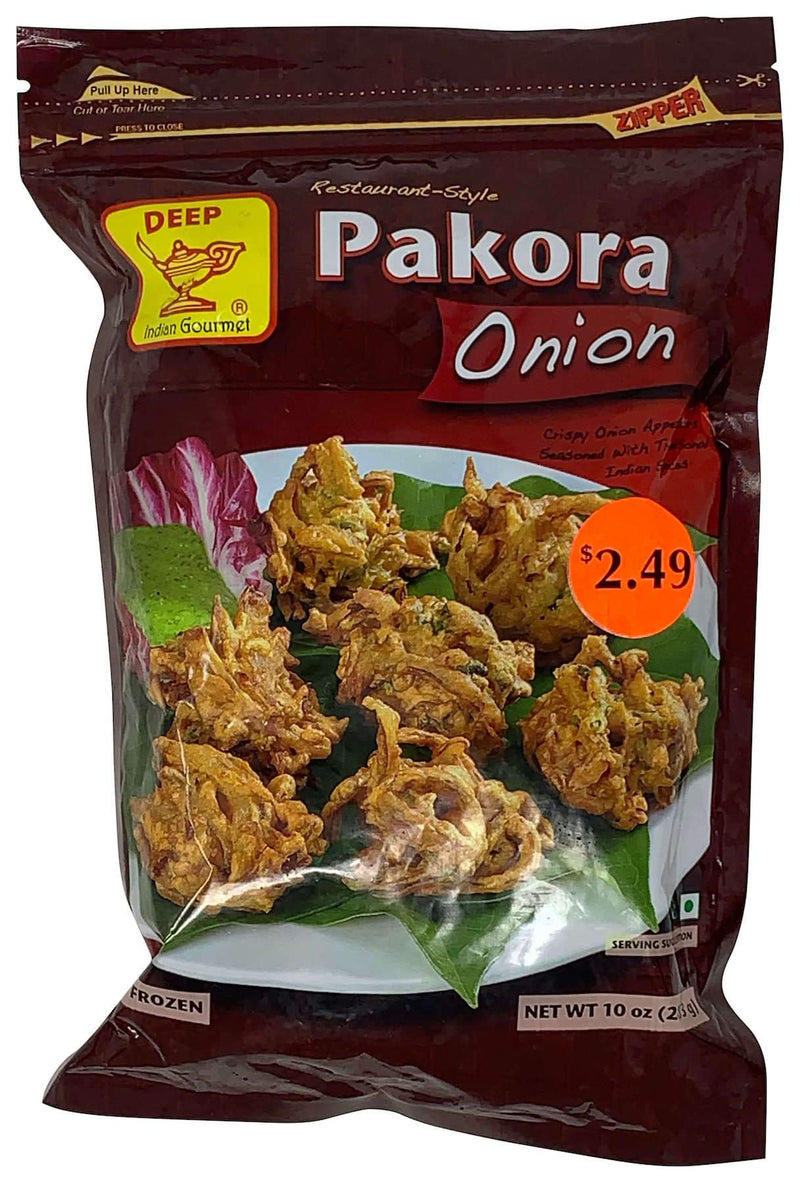 Deep Frozen Onion Pakora