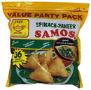 Deep Frozen Party Samosas Spinach Paneer 36 Count
