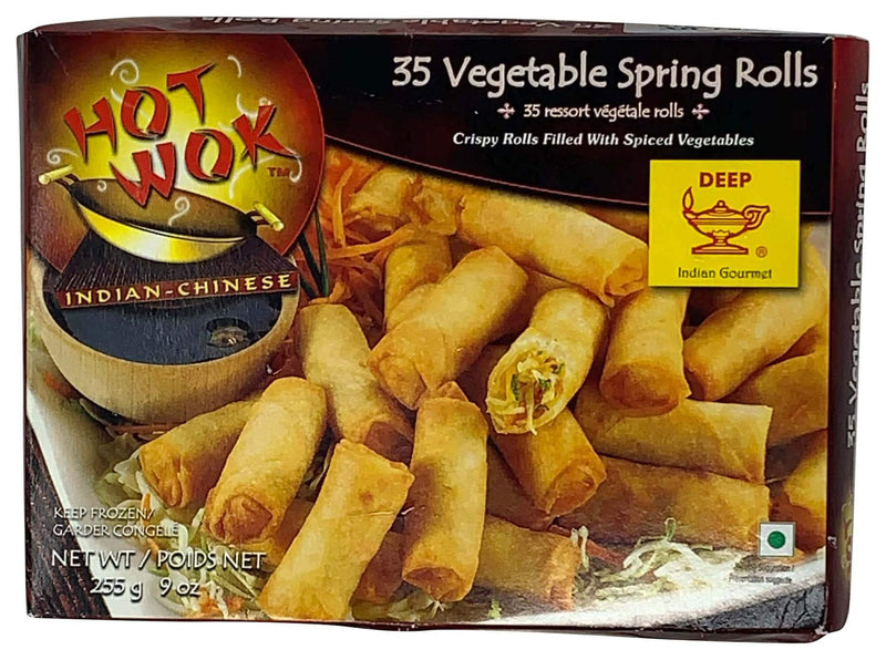 Deep Frozen Vegetable Spring Rolls 35 Count