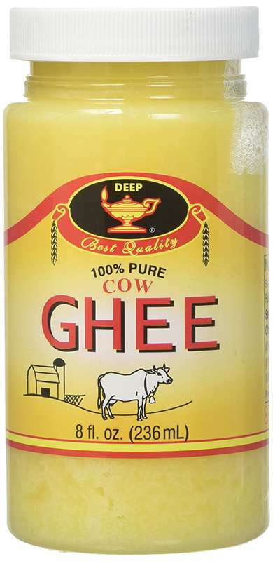 Deep Pure Cow Ghee 8oz
