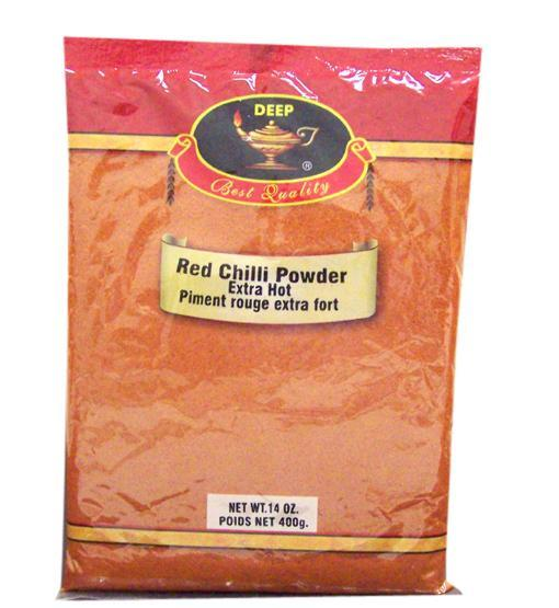 Deep Red Chili Powder Extra Hot 400gm