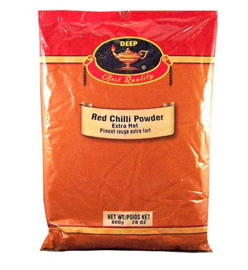 Deep Red Chili Powder Extra Hot 800gm