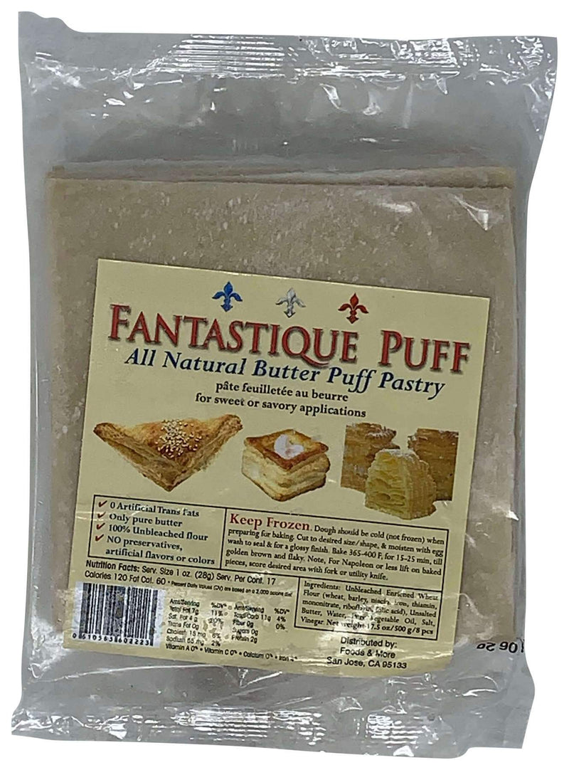 Fantastique Puff Pastry Sheets (Butter)