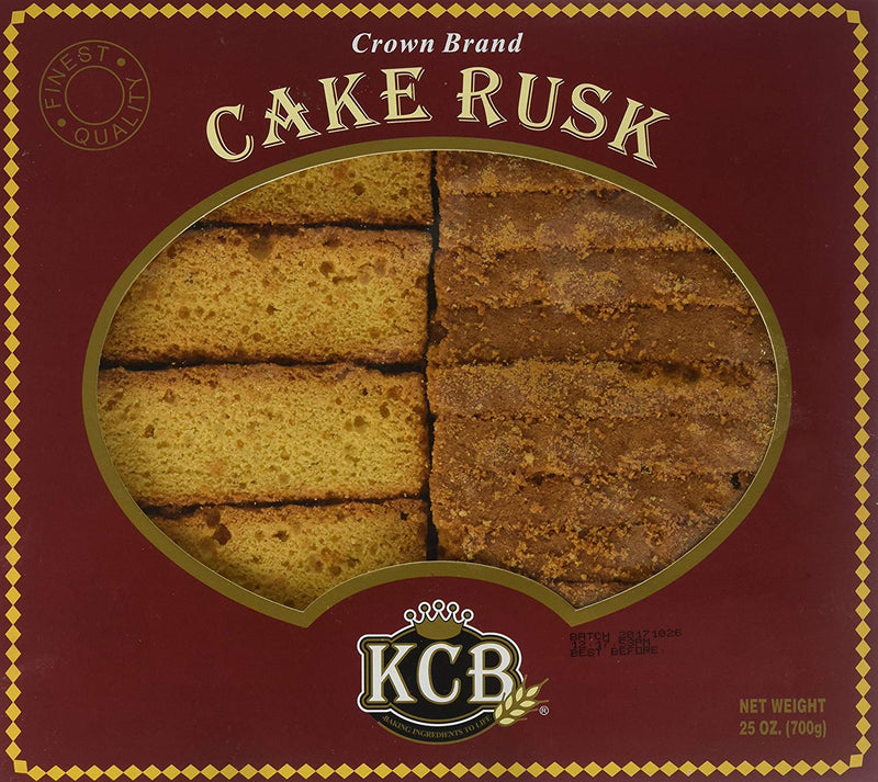 KCB Eggless/No Eggs Cake Rusk (Suitable For Vegetarians) 700gm