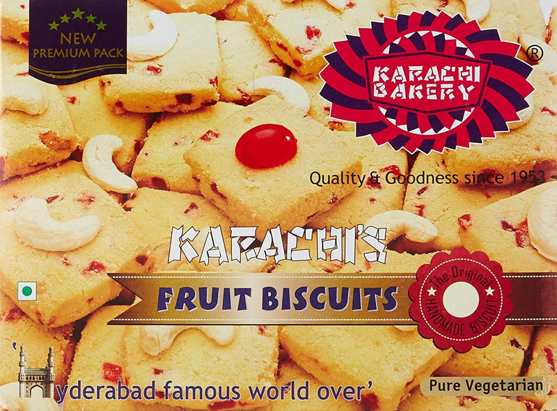 Karachi's Bakery Fruit Biscuits 400gm