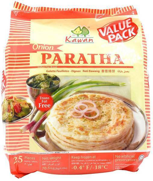 Kawan Frozen Onion Paratha 25 Count