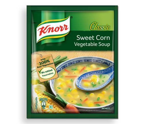 Knorr Sweet Corn Vegetables Soup