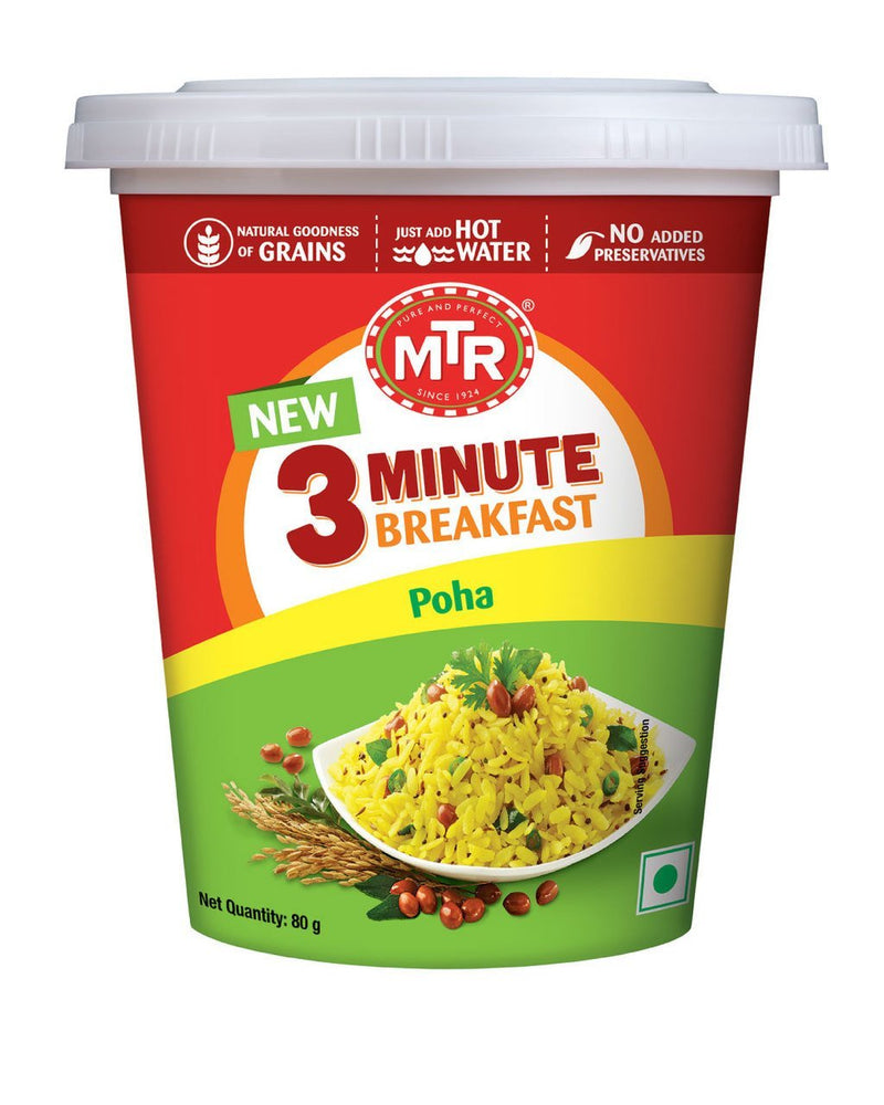 MTR Poha Cup 80gm