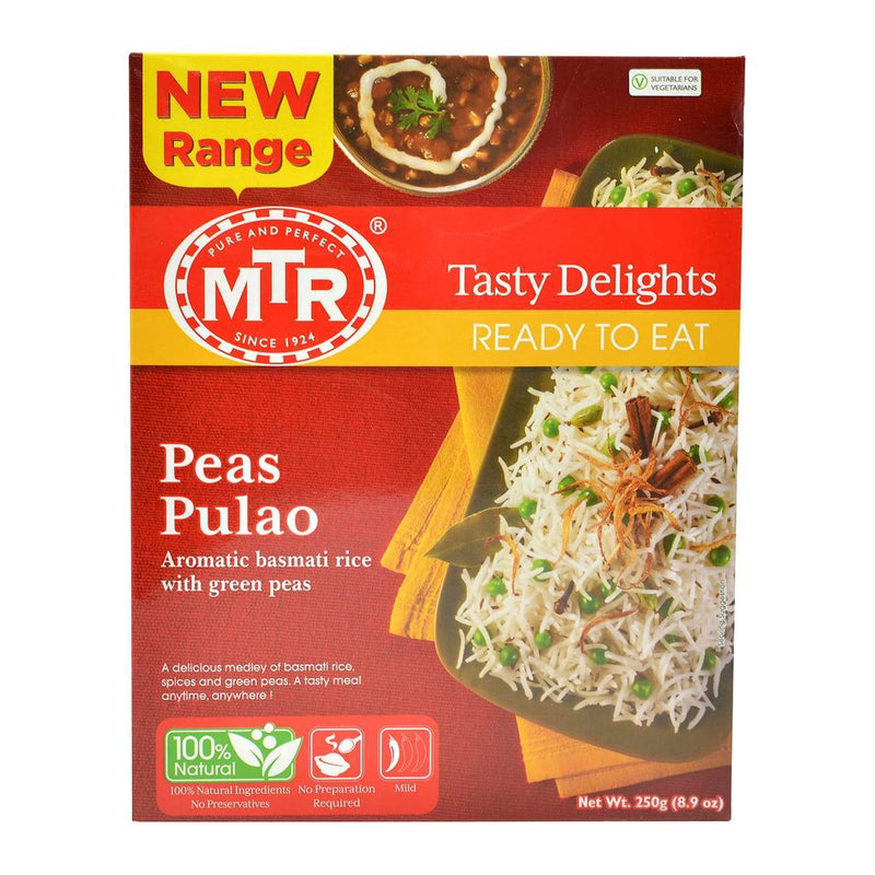 MTR Ready To Eat Peas Pulao