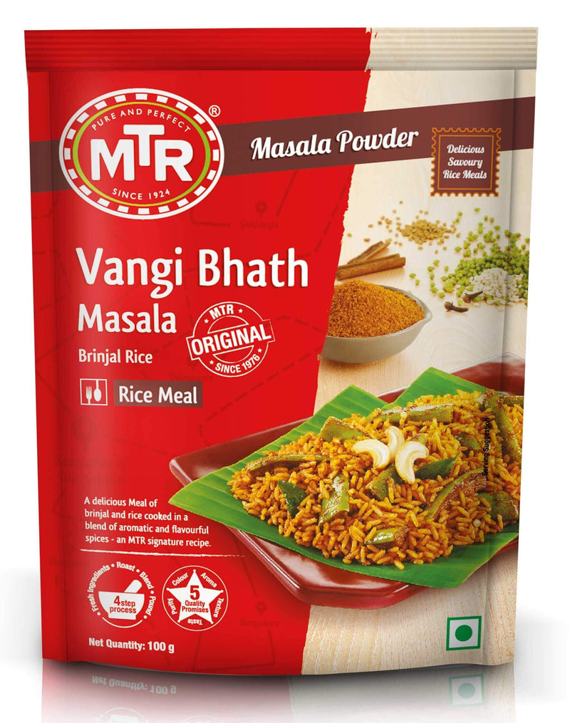 MTR Vangi Bhath (Brinjal Rice) Powder 100gm