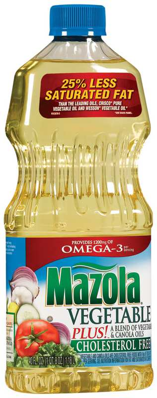 Mazola Vegetable Oil 40oz