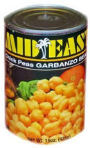 Mid East Garbanzo Beans Chick Peas (Canned)