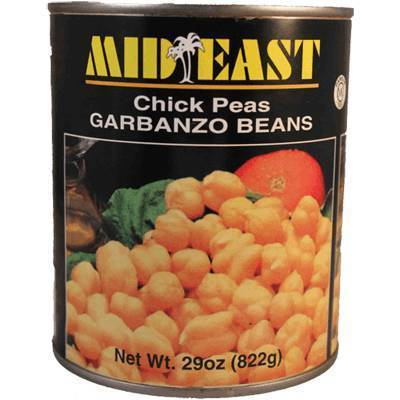 Mid East Garbanzo Beans Chick Peas (Canned) 29oz