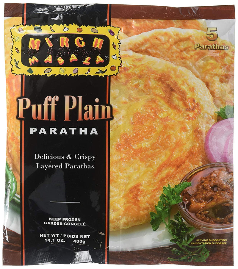 Mirch Masala Frozen Puff Plain Paratha