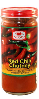 Nirav Red Chili Chutney 220ml