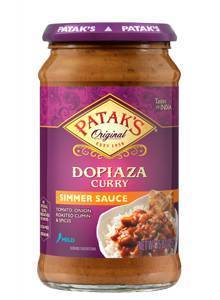 Patak's Dopiaza Curry Simmer Sauce 425gm