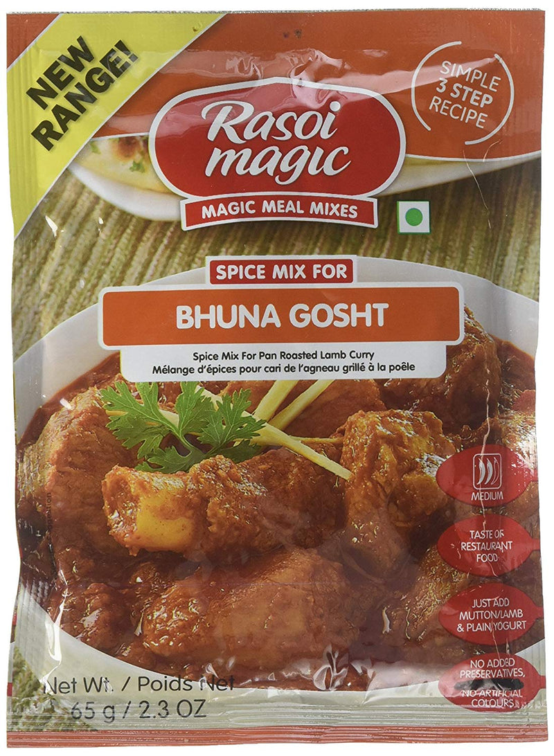 Rasoi Magic Bhuna Gosht Spice Mix 50gm
