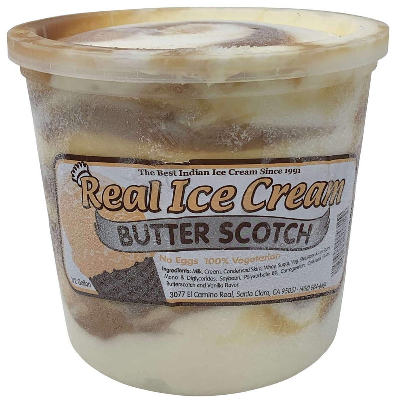Real Ice Cream Butterscotch Half Gallon