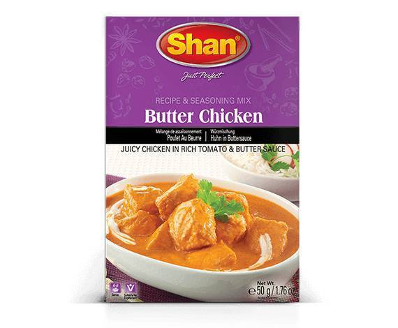 Shan Butter Chicken Curry Masala Spice Mix