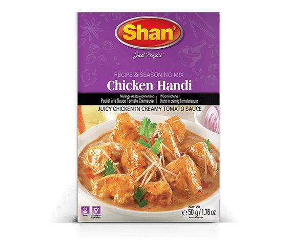 Shan Chicken Handi Masala Spice Mix 50gm