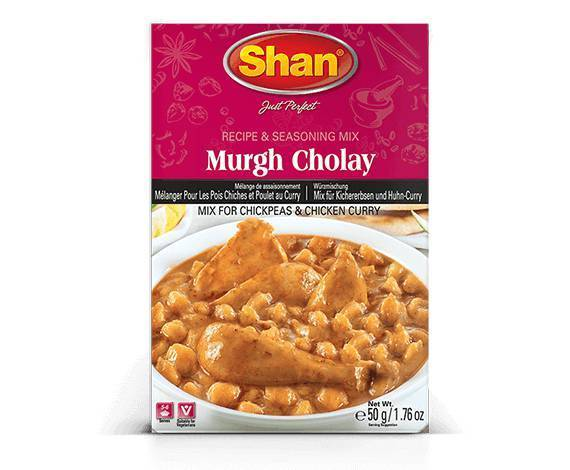 Shan Chicken Murgh Cholay Chole Curry Masala Spice Mix
