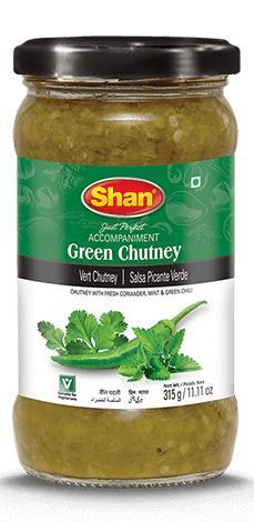 Shan Green Chutney 315gm
