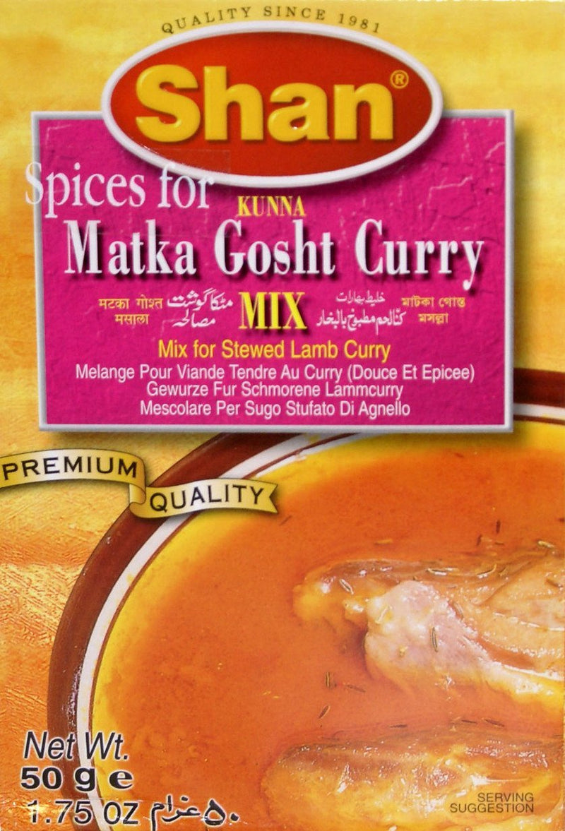 Shan Matka Gosht Curry Masala Spice Mix 50gm