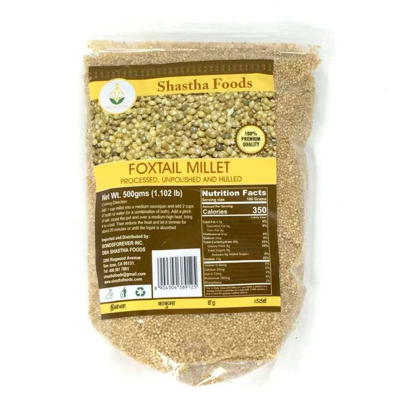 Shastha Foxtail Millet (Thenai) 500gm