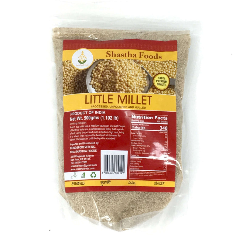 Shastha Little Millet (Samai) 500gm