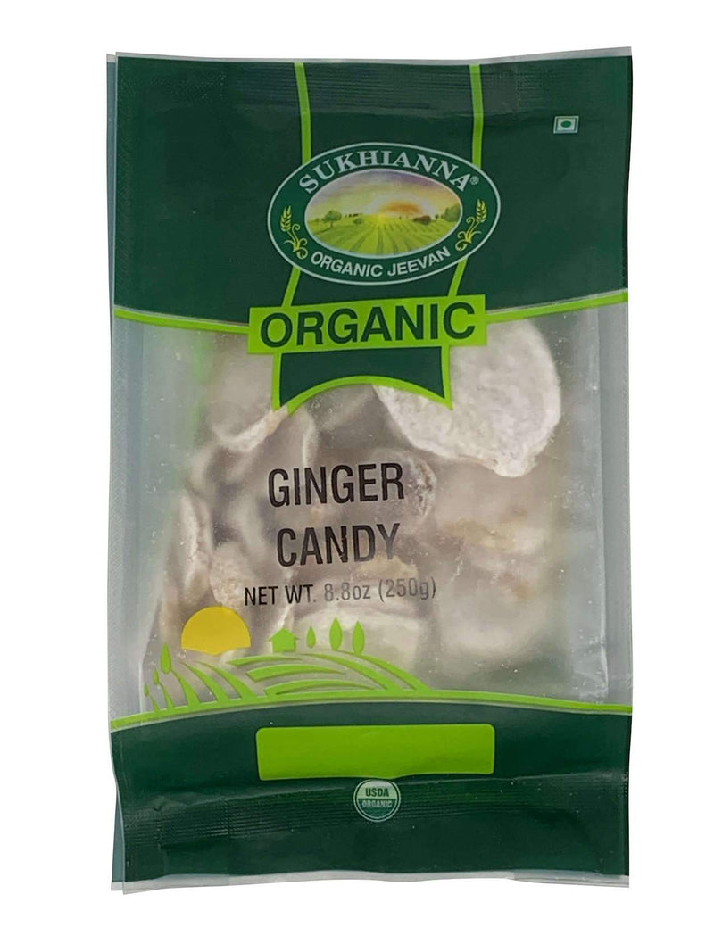 Sukhianna Organic Ginger Candy 250gm