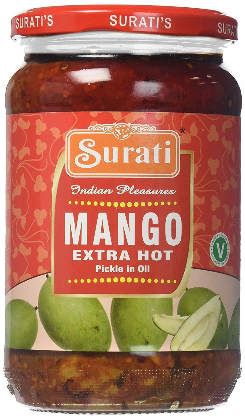 Surati Extra Hot Mango Pickle 700gm