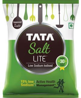 Tata Iodized Lite Low Sodium Salt 1KG