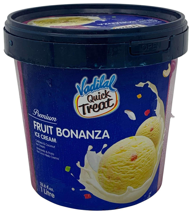 Vadilal Quick Treat Fruit Bonanza Ice Cream 1 Liter