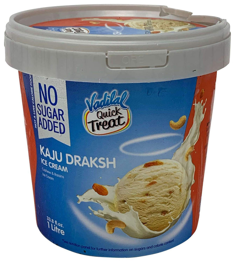 Vadilal Quick Treat Kaju Draksha Ice Cream