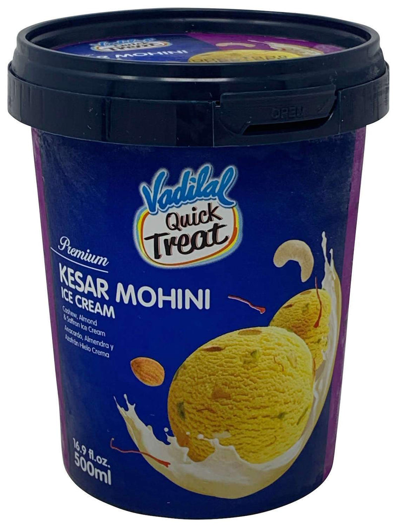 Vadilal Quick Treat Kesar Mohini Ice Cream 500ml
