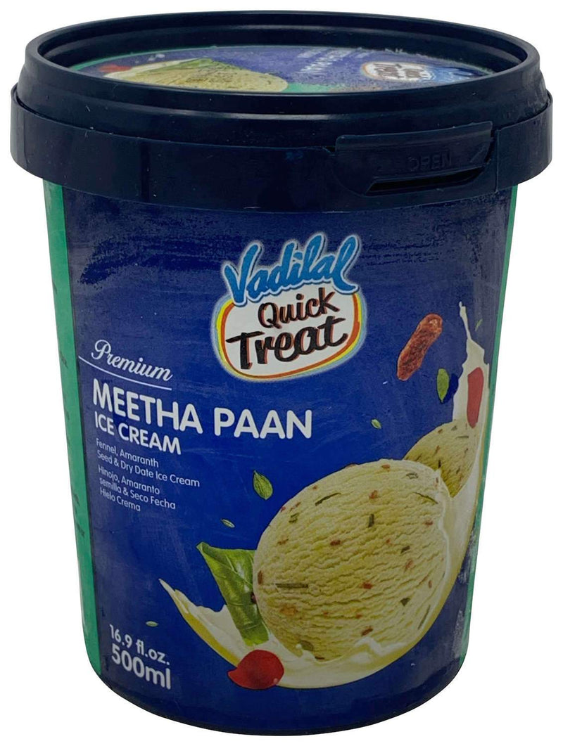 Vadilal Quick Treat Meetha Paan Ice Cream 500ml