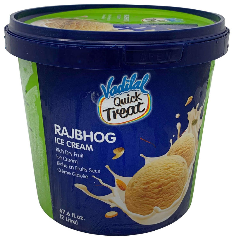 Vadilal Quick Treat Rajbhog Kulfi Ice Cream 2 Liter