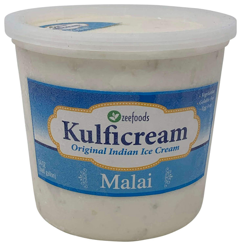 Zee Foods Kulficream Malai Ice Cream Half Gallon